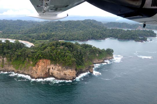Manuel Antonio Costa Rica From Air